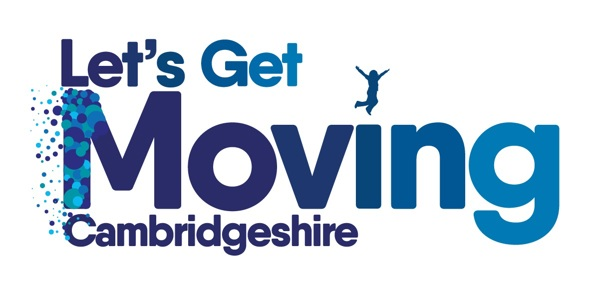 Lets Get Moving Cambridgeshire Logo