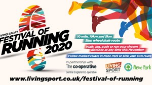 Living Sport Unveils Plan for its Festival of Running 2020 this November